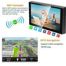 New listing 7inch Android 8.1 Car Stereo Gps Navigation Radio Player Double Din Wifi Us ship