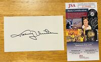 Johnny Unitas Signed Autographed 3x5 Index Card JSA Certified Colts Football HOF