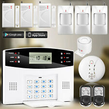 APP Control GSM Wireless Home Burglar Smoke Alarm Security System PIR Sensor