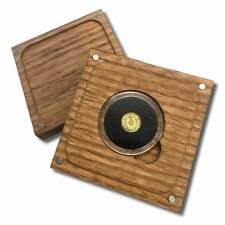 1/4 Gram .9999 Fine Gold Round in a Capsule with a Box - Horseshoe Design - BU