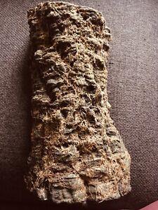 Log Effect Aquarium Tropical Fish Tank Filter Pipe Cover Resin Rock