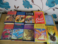 Harry Potter Complete Book Set 1-7 Bloomsbury JK Rowling & Extras - 1 St Edition