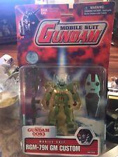 2001 Bandai Mobile Suit Gundam 0083 Stardust Memory RGM-79N GM Custom Figure