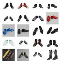 1/6 Scale Mens Sneakers Dress Shoes Boots Accessories for 12'' Action Figure Toy