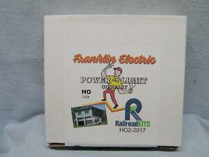 RailroadKits - Franklin Electric Power & Light Company - wood kit -  NIB