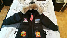 2018 LATEST CONCEPT EDITION BLACK CANADA GOOSE SNOW MANTRA XL PARKA JACKET