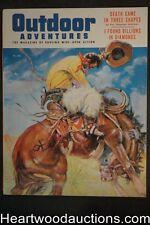 Outdoor Adventure Nov 1955 Benton Clark Cvr, Eve Meyer, Tom Beecham - High Grade