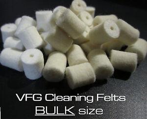 VFG REGULAR felts for cleaning rod system --> 13 sizes available! Bulk Size