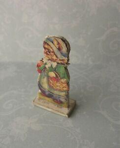 Dollhouse Miniature*Standing Cat in Dress*1:12*OOAK*artist*room decor*kitten