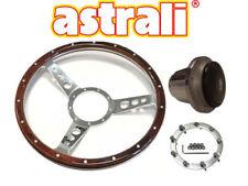 """Astrali ® 14"""" Pollice Classica in Legno a forma di piatto VOLANTE & Boss Per Triumph Spitfire"""