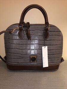 dooney bourke handbags new with tags Zip Zip Satchel Oakdale Stone