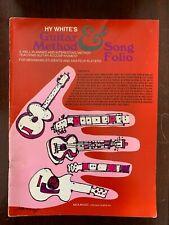 ~Hy White's Guitar Method & Song Folio-Music Instruction~Very Good 1954~