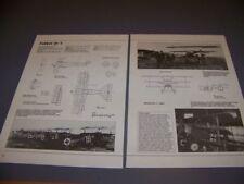 VINTAGE..FOKKER DR.I TRIPLANE..3-VIEWS/DETAILS/SPECS/STRUCTURE..RARE! (960P)
