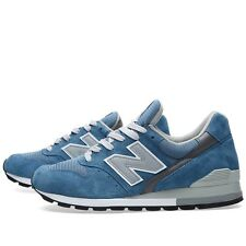 New Balance Lifestyle Training Shoe SZ 13 Blue Grey White M996JFB