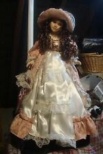 Tall Doll straight from display cabinet