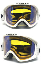 OAKLEY CANOPY SNOWBOARD GOGGLES 2017 MATTE WHITE YELLOW / FIRE IRIDIUM AUTHENTIC