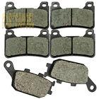 Front Rear Carbon Brake Pads - HONDA CBR 1000 RR CBR 600 RR CBF 600 N7