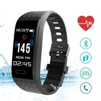 Waterproof Smart Watch Sports Wrist Bracelet Tracker Band Heart Rate Fitness