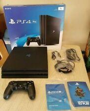 Pack PS4 Pro 1TB  + 4 jeux