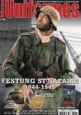 UNIFORMES N° 306 / FESTUNG ST-NAZAIRE 1944-1945 - 1914 LES SAXONS EN CHAMPAGNE