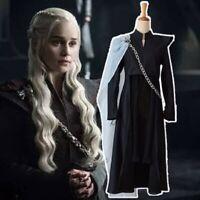 Game of Thrones Cosplay Season 7 Daenerys Targaryen Mother of Dragons Costumes