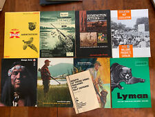 Vintage 1962-1971 Firearms, Ammo, Sporting Goods Catalogs Lot Of 8