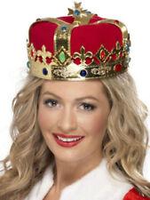 King & Queen Plastic Costume Cloches