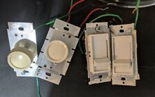 Lot of 20 Items Various Electrical Light or Dimmer Switches & Electric Outlets