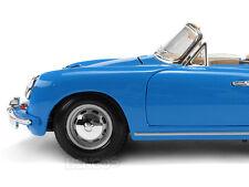 1961 Porsche 356B Cabriolet 1:18 Scale Diecast Model
