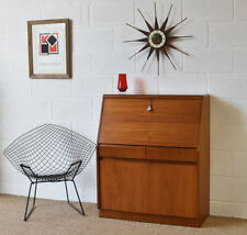 Teak Vintage/Retro Home Office Furniture with Cupboard