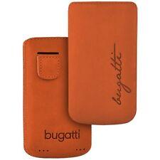Bugatti Perfect Velvety Mandarin f Samsung Galaxy Gio S5660 Nubuk Leder Tasche