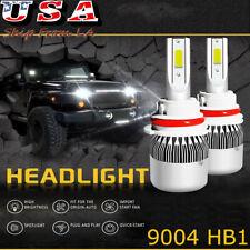 9004 LED Headlight Bulbs Kit 6000K Cool White High Low Beam Light Bulb Bright