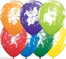 Birthday, Child Animals Party Standard Balloons