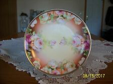 O. & E. G. Royal Austria Hand Painted Porcelain Plate Signed by Artist Lann