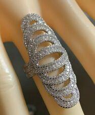 Cocktail Ring   Zirkonia    925er Silber  # 53