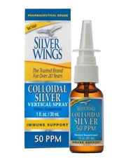 Natural Path Silver Wings Colloidal Silver 50 Ppm 1 oz Immune Support