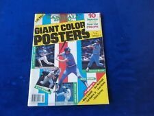 1985 BASEBALL SPECIAL MAGAZINE WITH 10 SUPERSIZE PINUPS