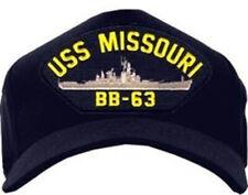 USS Missouri BB-63 / USN Ship Baseball Cap