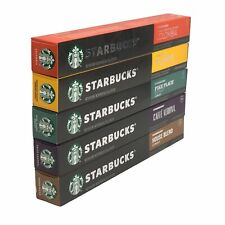 STARBUCKS by Nespresso Favorites Variety Pack 50-count Single Serve Capsules