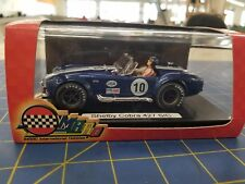 MRRC MC-9911 Ford Shelby Cobra 427 S/C #10 Metallic Blue  1/32 Slot Car