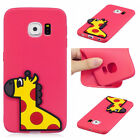 For Samsung Galaxy S7 edge Silicone Soft Case 3D Gel Skin TPU Rubber Cover Back