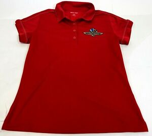 Womens Sport Tek Breathable Indianapolis 500 Motor Speedway Athletic Polo Size S