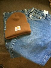 Carhartt Jeans  B167 DST Loose Fit Working Man Jeans Tough 30 x 28 1/2
