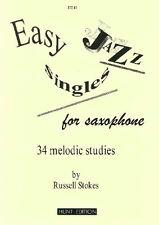 Easy Jazz Singles- Grade: 2 - 6- Alto/Bari Sax TCL: (NEW) 5 [ends: 20, HE43