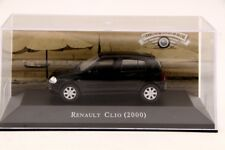 Altaya 1:43 Scale Renault Clio 2000 Cars Diecast Models Hobbies Collection Black