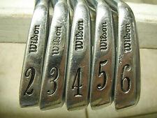 Wilson Staff Tour Blade FG-17 Golf Irons 2-P Regular.  AND Staff Tour Blade 1,2