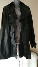 NWT 3,998 ralph lauren collection black label  leather and silk linning