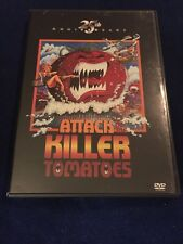 ATTACK OF THE KILLER TOMATOES DVD 25TH ANNIVERSARY EDITION