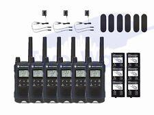 Motorola TALKABOUT T460 Two-Way Radio 22 Channel Walkie Talkie 6-PACK BRAND NEW