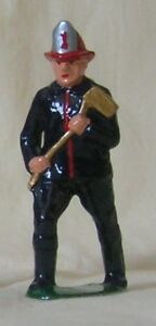 Fireman with Axe, Standard Gauge train layout figure, New/Reproduction